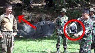 vuclip AKSI NEKAT TNI, Siram tangan dengan air keras - ATRAKSI #10