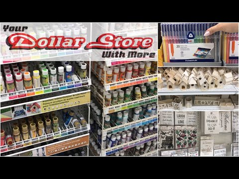HUGE Dollar Store Full Tour (NO MUSIC)