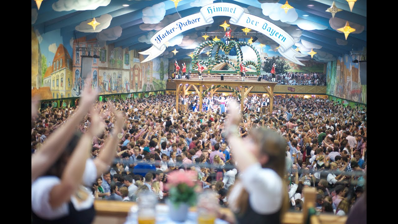 oktoberfest wiesn beerfest m nchen 2014 hacker pschorr festzelt finale youtube. Black Bedroom Furniture Sets. Home Design Ideas