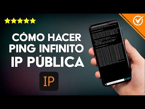 Cómo Hacer ping y ping Extendido o Infinito a una IP Pública