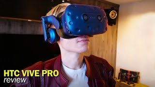 HTC Vive Pro Review: The Most Expensive VR Headset on the Market