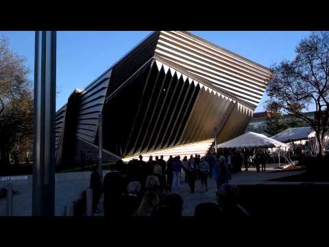 Opening Day and the Eli & Edy the Broad Art Museum