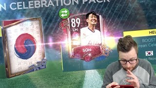 Opening Every Korean Celebration Goal Pack in FIFA Mobile 20! Watch Before You Buy!