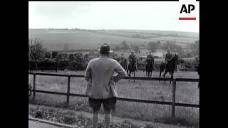 Stable Boys Strike At Lambourn.