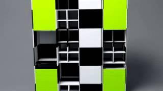 стеллаж, дизайн стеллажа, стеллаж для комнаты, стеллаж для коридора. Сте...(, 2013-12-31T06:49:39.000Z)