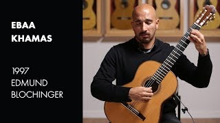 Weiss Prelude from Lute Suite No. 34 played by Ebaa Khamas on a 1997 Edmund Blochinger