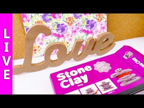 STONE CLAY im Test | DIY Idee mit Stein Knete | Cooles neues Material im Live Test