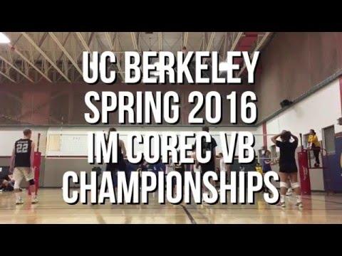 UC Berkeley Spring 2016 IM CoRec Championships