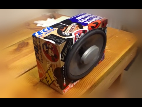 How To Build A Cheap And Simple Diy Speaker Box Youtube