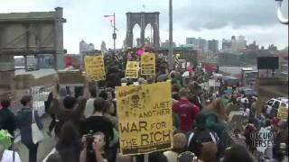 Occupy Wall Street Brooklyn Bridge Arrests -- October 1, 2011
