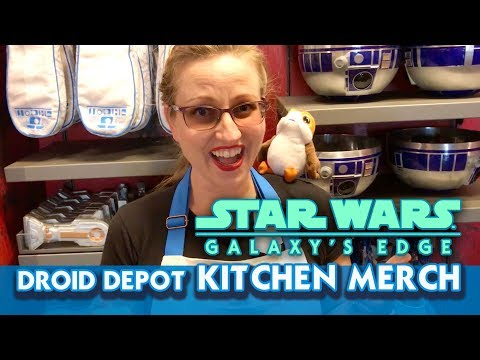 Galaxy's Edge Droid Depot - KITCHEN Merchandise