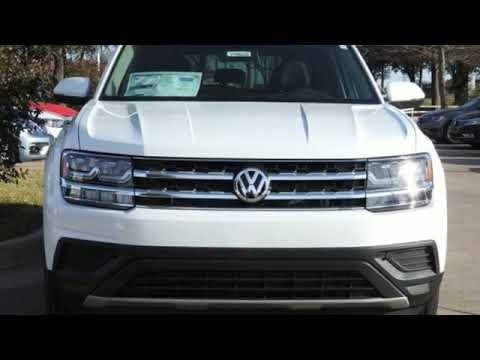 New 2019 Volkswagen Atlas Dallas TX Garland, TX #V190325