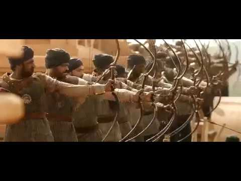 Prabhas entry As Amarendra Baahubali With Hindi Bgm