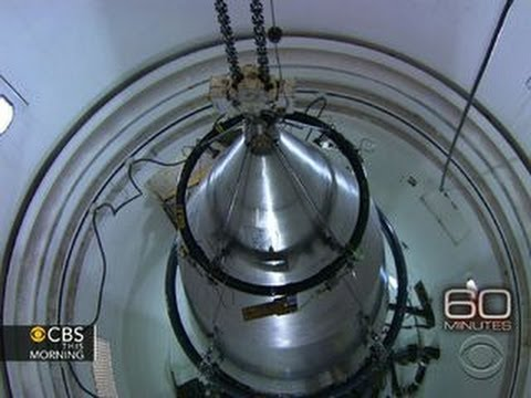 """60 Minutes"" gets rare look inside nuclear arsenal"