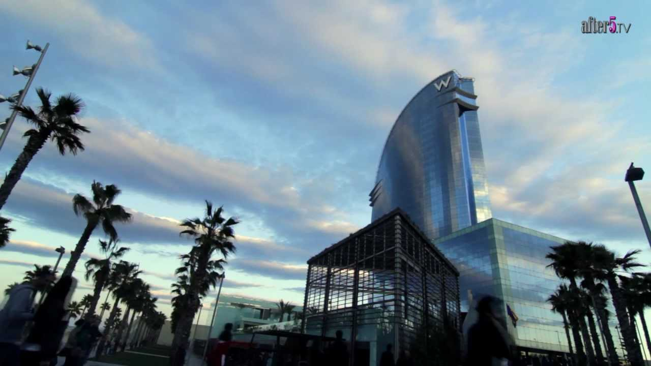 W hotel barcelona promotional trailer video marketing for Hotel w barcelona precios