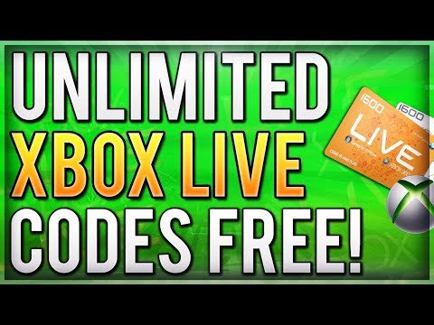 HOW TO GET UNLIMITED FREE XBOX LIVE CODES NO SURVEY