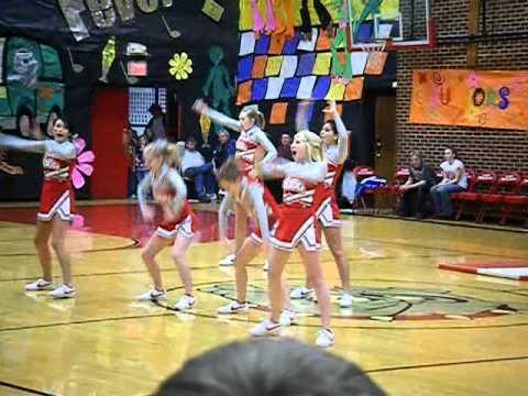 Dixon High School Cheerleaders
