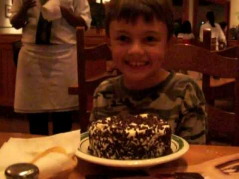 Alex 39 S Birthday Olive Garden Song Youtube