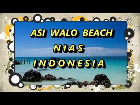 Indonesia trip : Asi Walo Beach. A fantastic beach with beautiful white sand in Nias. Indonesia