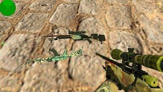 Модели оружий CSGO для cs 1.6 (пак винтовок V4) №9