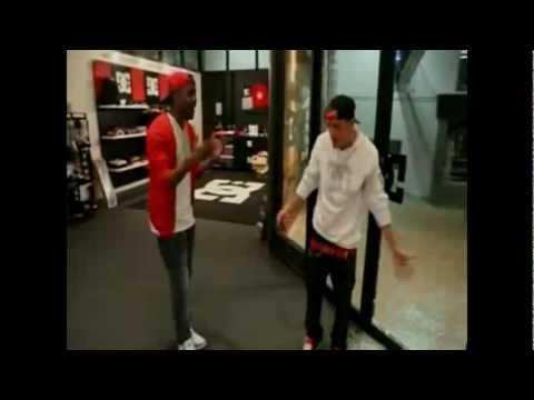 Rob Dyrdek How To Walk Through A Glass Door Youtube