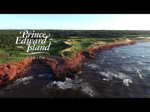 Bird's-eye view of beautiful Prince Edward Island