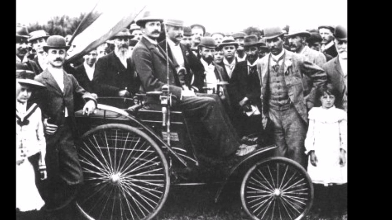 The very first Motor car in South-Africa - YouTube