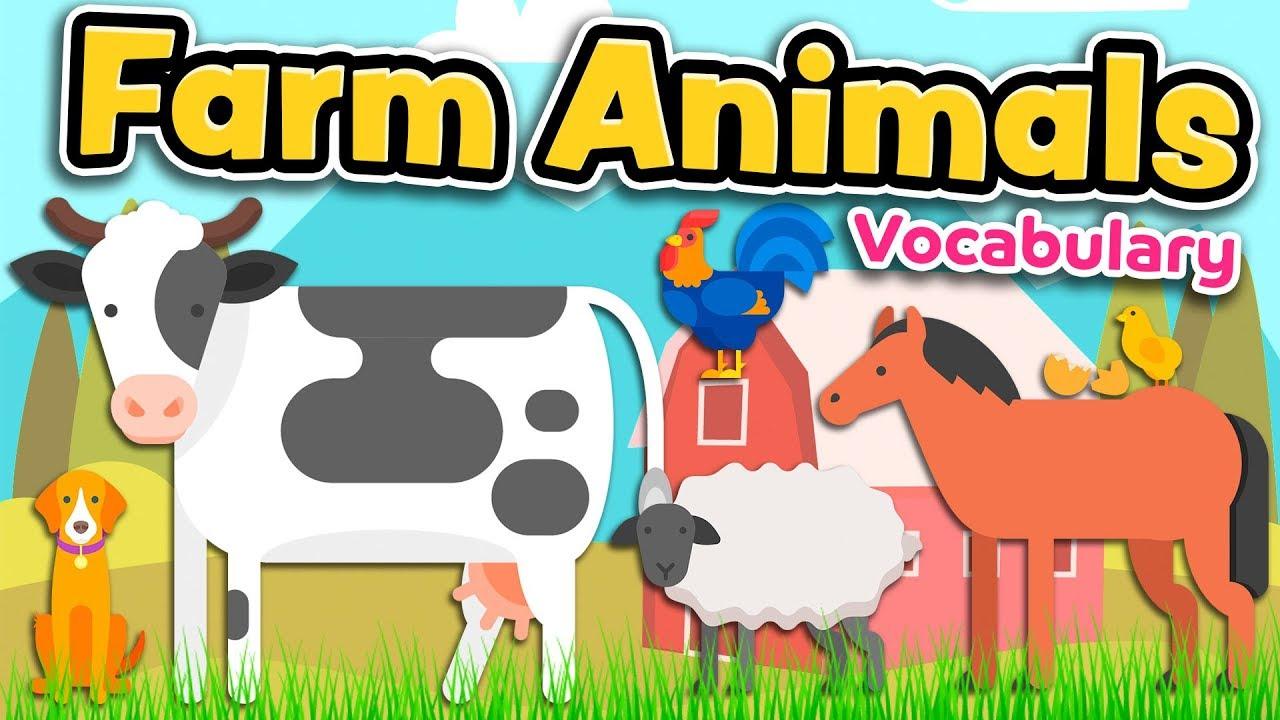 farm animals english