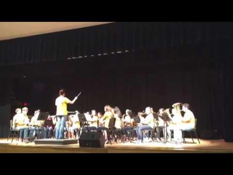 New Kent Middle School.  7th grade band [MANHATTAN BEACH]
