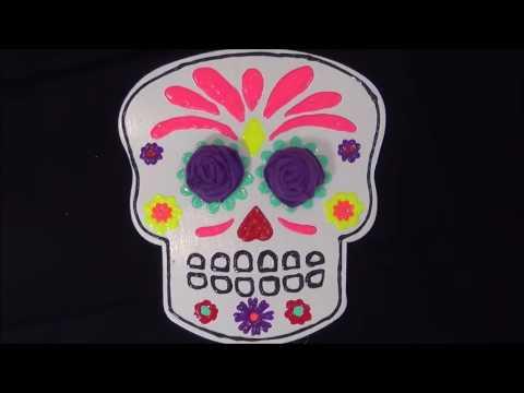 Episode 156: DIY Dia de los Muertos Skull Decorations