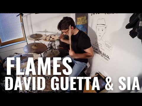 David Guetta & Sia - Flames | Maximilian Langer Drum Cover