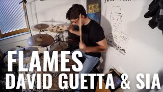 David Guetta & Sia - Flames | Maximilian Langer Drum Cover Video