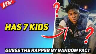GUESS THE RAPPER BY RANDOM FACT! (HARD)