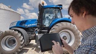 New Holland T8 NHDrive Autonomous Concept Tractor