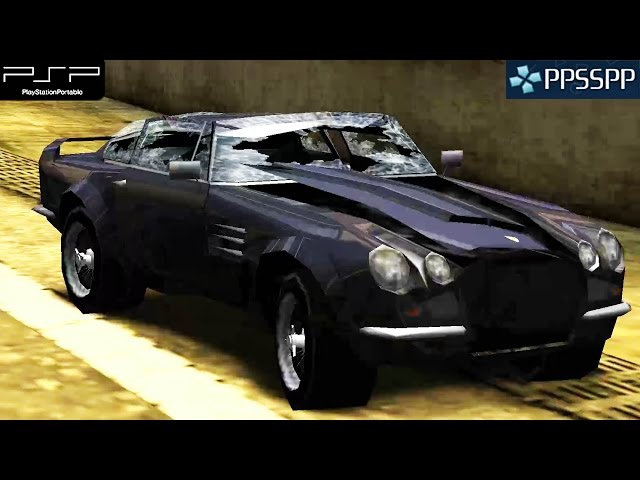 Burnout Dominator - PSP Gameplay 1080p (PPSSPP)