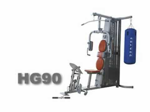 Domyos Home Gym HG 90 YouTube