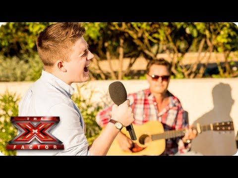 Nicholas McDonald sings If Youre Not The One  Judges Houses  The X Factor 2013