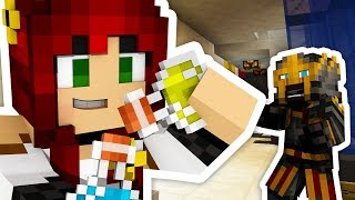 Minecraft: Who's better at Minecraft, Thea or Crainer!? 🤔 - Escape Science Lab