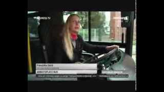 Busfahrerin in Hamburg