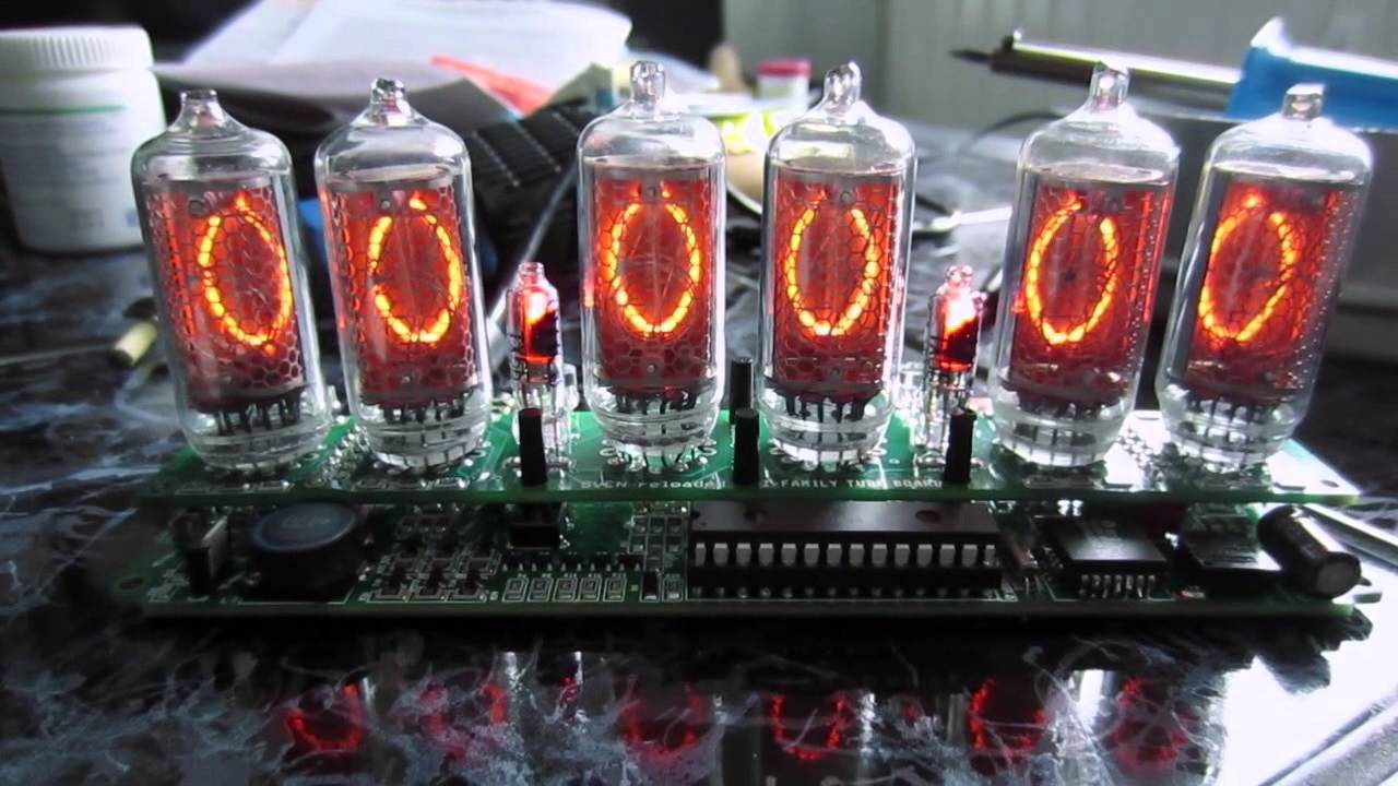 Sven Reloaded Nixie Clock Kit