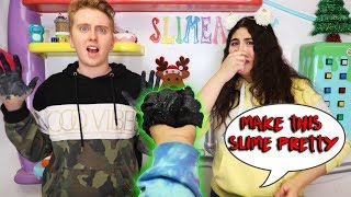 FIX THIS UGLY SLIME CHALLENGE! Slmeatory #617