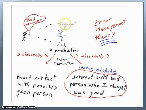 error management theory