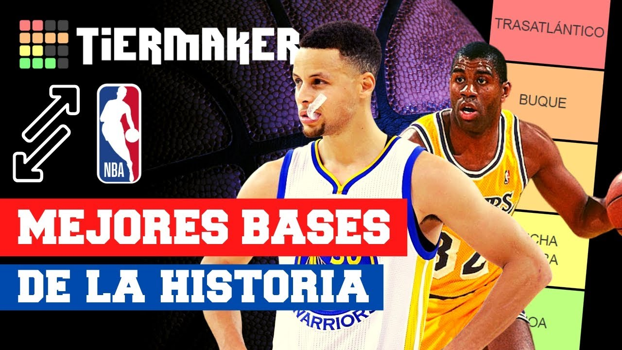 TIER LIST: MEJORES BASES DE LA HISTORIA DE LA NBA