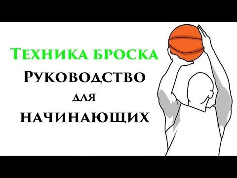 Как правильно кидать мяч в баскетболе видео уроки