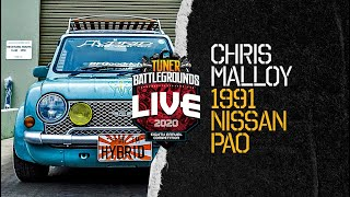 PASMAG Tuner Battlegrounds Competitor: Chris Malloy - 1991 Nissan Pao