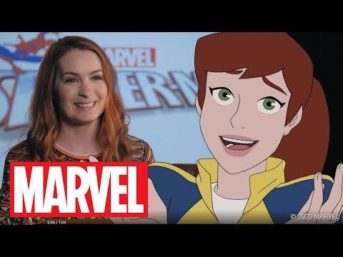 Felicia Day Talks Mary Jane Watson in Marvel's Spider-Man: Maximum Venom!