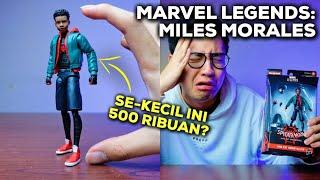 500 RIBUAN SE-KECIL INI, WORTH IT GAK? (UNBOXING & REVIEW MARVEL LEGENDS SERIES MILES MORALES)