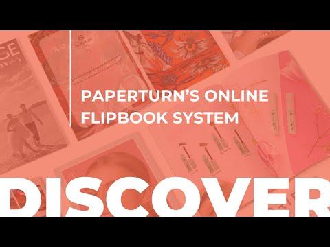 Paperturn's Online Flipbook System