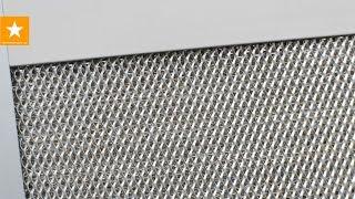видео Алюминиевый фильтр для вытяжки