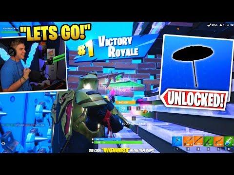 First Win of Fortnite Season 10 and I UNLOCKED the Secret Glider! (Fortnite Battle Royale Season X)